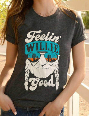 Feelin' Willie Good Cactus T-Shirt
