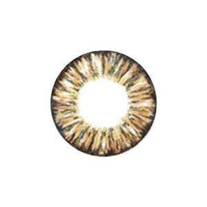 Pineapple Brown Contact Lenses