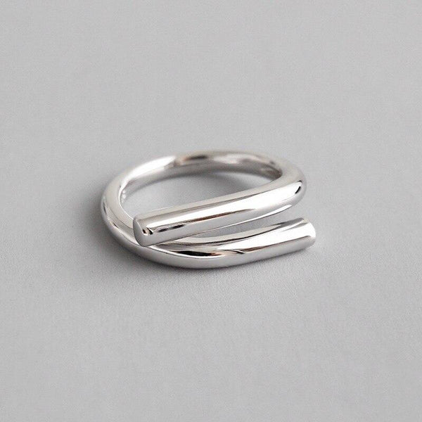 Forever Silver Wrap Ring