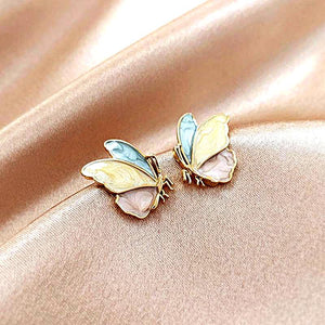 Pastel Butterfly Earrings