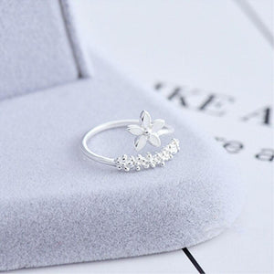 Cherry Blossom 925 Sterling Silver Ring