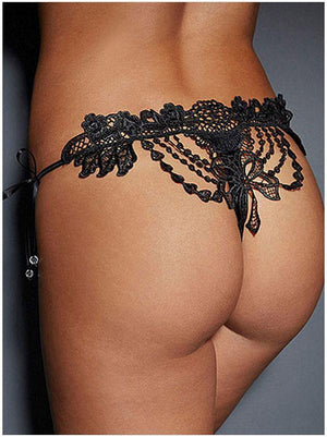 Lace Bandage G-string Thongs Panties