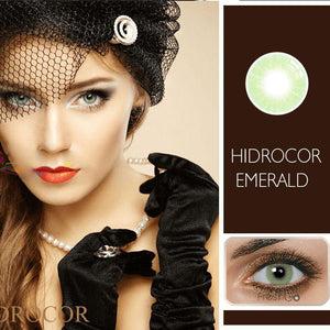 EMERALD HIDROCOR PRESCRIPTION (12 MONTH) CONTACT LENSES