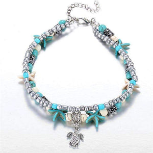 Ocean Essence Double Layer Anklet