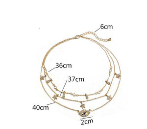 Protected With Love Multilayer Necklace