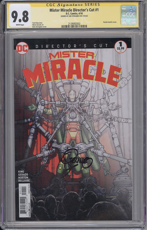 Mister Miracle #1 Director's Cut CGC SS 9.8 Jim Steranko