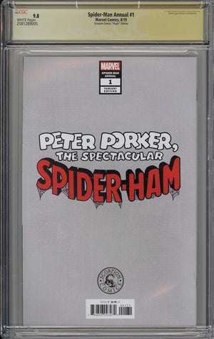Spider-Man Annual #1 CGC SS 9.8 Clayton Crain Virgin Variant - Scorpion Comics Fan Expo Boston Exclusive