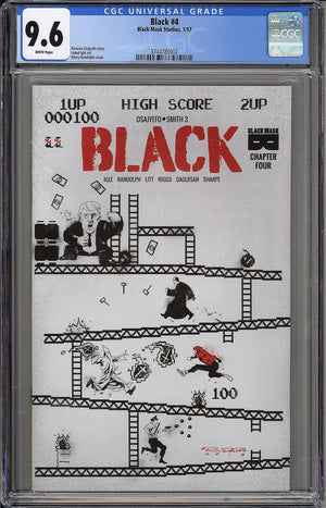 Load image into Gallery viewer, Black #4 CGC 9.6 Khary Randolph 8-Bit Cover
