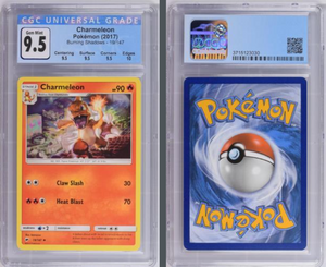 Load image into Gallery viewer, Pokémon Charmeleon #19 Sun & Moon Burning Shadows CGC 9.5 GEM MINT
