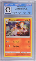 Pokémon Charmeleon #19 Sun & Moon Burning Shadows CGC 9.5 GEM MINT