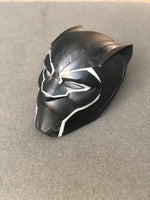 Custom handmade Black Panther Cosplay Helmet
