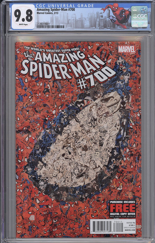 Load image into Gallery viewer, Amazing Spider-Man #700 CGC 9.8 Garcin Variant