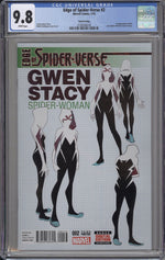 Edge of Spider-Verse #2 CGC 9.8 Third Print Variant
