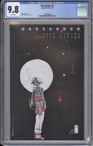 Descender #1 CGC 9.8 Nguyen Cover A
