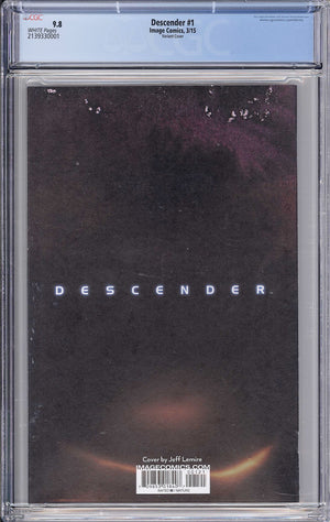 Load image into Gallery viewer, Descender #1 CGC 9.8 Nguyen Variant
