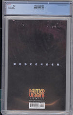 Descender #1 CGC 9.8 Painted Visions Variant