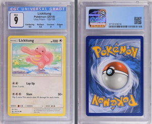 Pokémon Lickitung #102 Sun & Moon Ultra Prism 2018 CGC 9.0 MINT