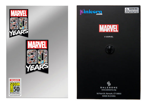 SDCC 2019 Toynk Exclusive Marvel 80 Years Enamel Pin