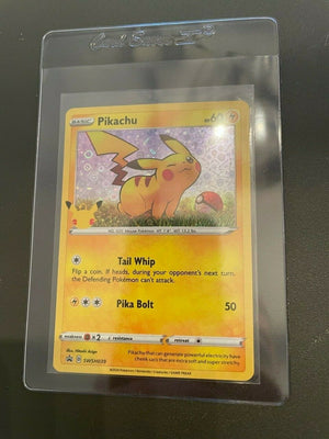 Pokémon Pikachu General Mills Stamped 25th Anniversary Holo Promo Card