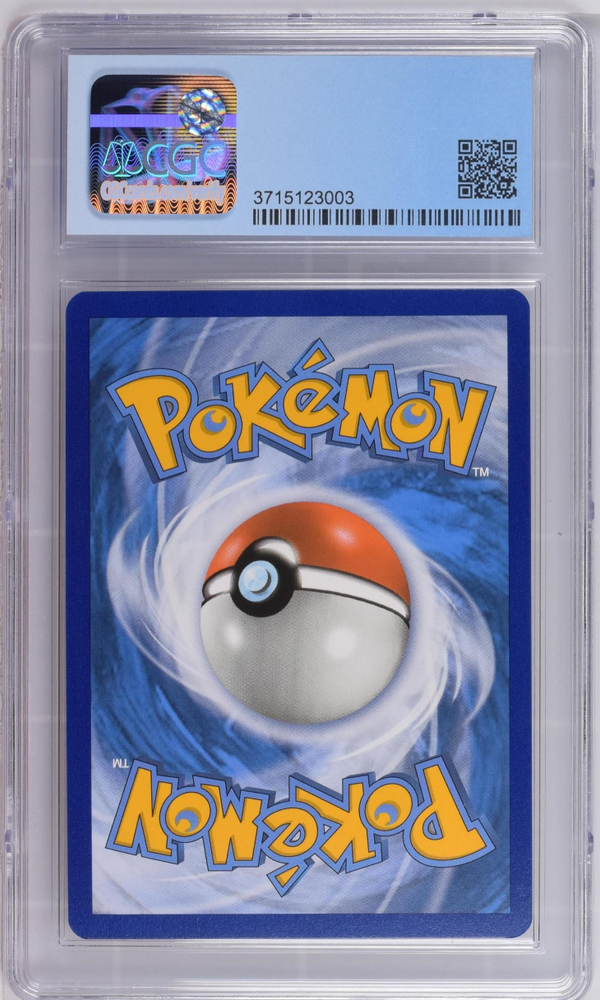 Pokémon Pikachu Cracked Ice Holo #28 Shining Legends CGC 9.5 GEM MINT