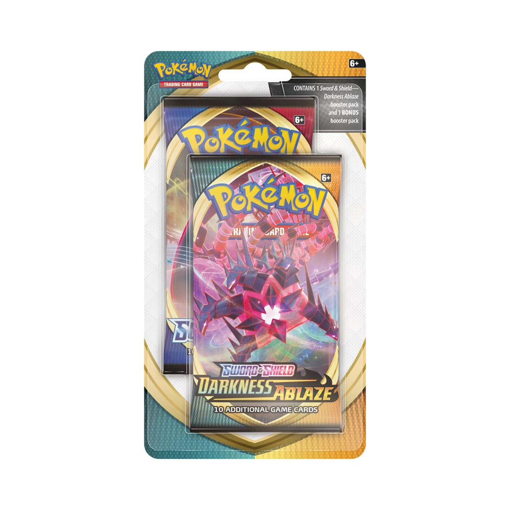 Pokemon TCG Sword and Shield Darkness Ablaze Blister Pack
