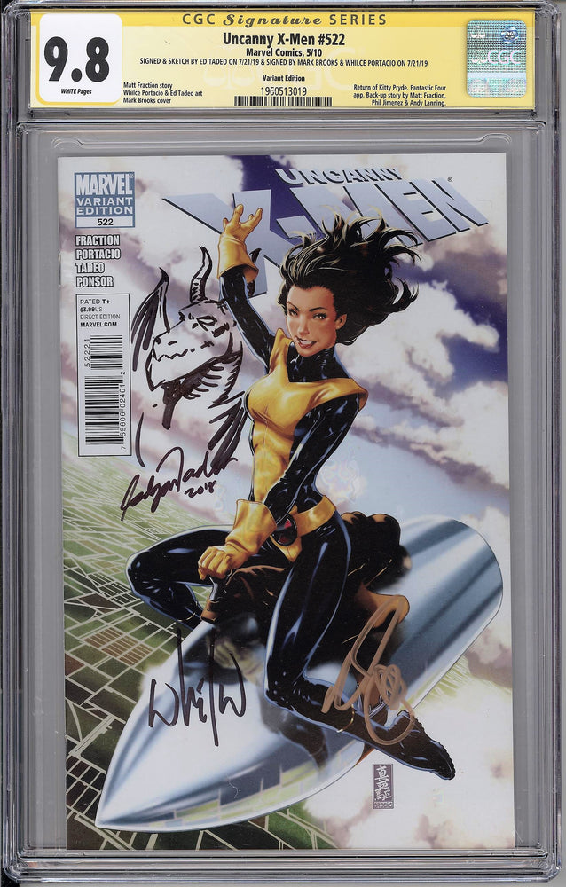 Load image into Gallery viewer, Uncanny X-Men #522 CGC SS 9.8 1:25 Variant - Remarked