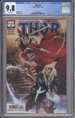 Thor #4 CGC 9.8 Cover A - First Cameo Black Winter