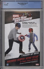Edge of Spider-Verse #2 CGC 9.8 Fourth Print Variant