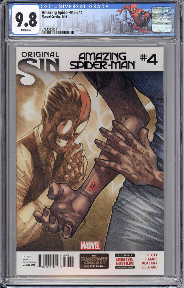 Amazing Spider-Man #4 CGC 9.8 Cover A - First Appearance of Cindy Moon