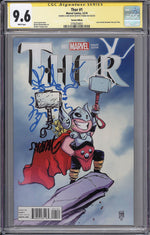 Thor #1 CGC SS 9.6 Skottie Young Variant - Remarked First Full Jane Foster as Thor