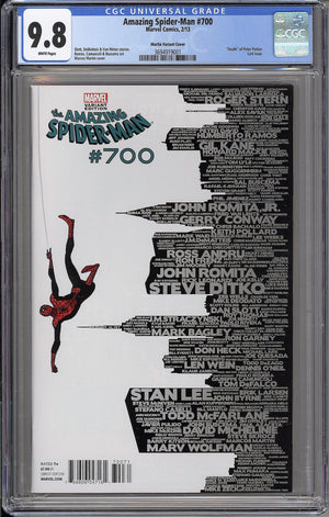 Load image into Gallery viewer, Amazing Spider-Man #700 CGC 9.8 Martin Skyline variant