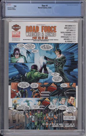 Load image into Gallery viewer, Thor #1 CGC 9.8 Cover A