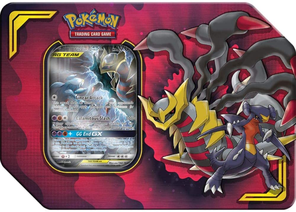 Pokemon TCG Power Partnership Tag Team Tin - Garchomp & Giratina
