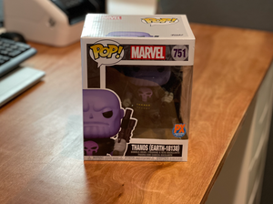 Funko POP Super Marvel Heroes Thanos Earth-18138 PX 6in figure - Thanos Punisher
