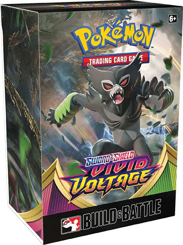 Pokemon TCG Sword and Shield Vivid Voltage Build & Battle Box