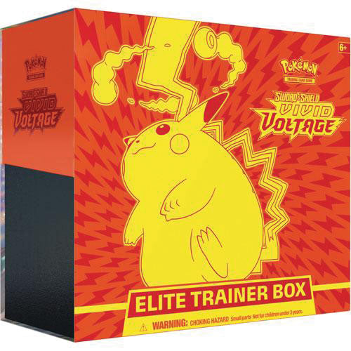Pokemon TCG Sword and Shield Vivid Voltage Elite Trainer Box