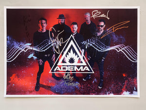 Adema Signed Poster