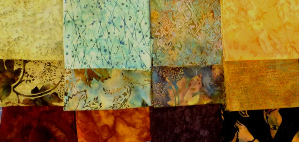 Fabric combinations for Entwined Star