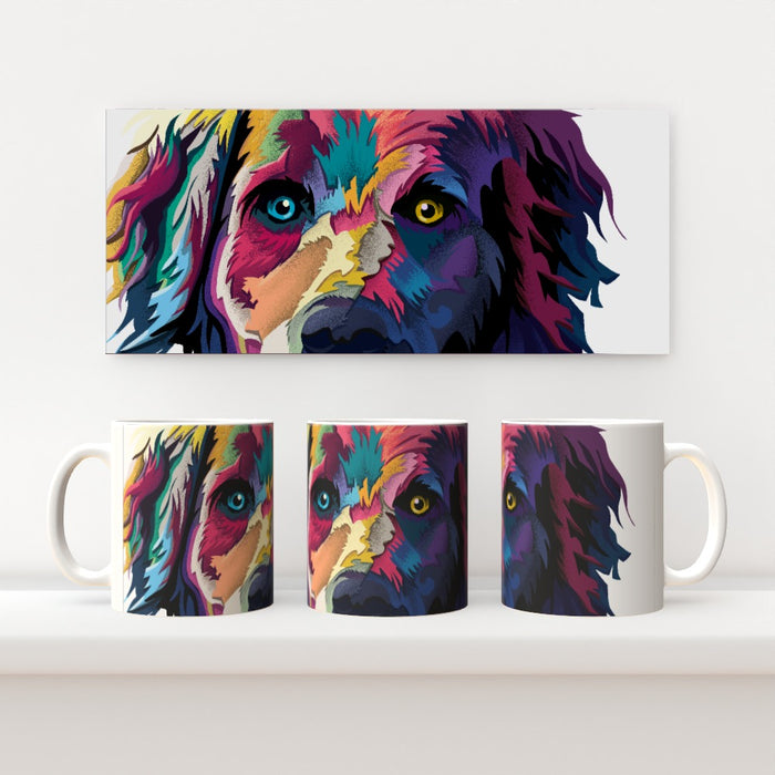 11oz Ceramic Mug - Digital Dog - printonitshop
