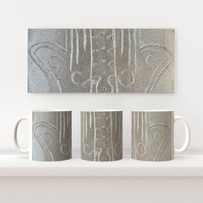 11oz Ceramic Mug - Hamsa 2- CJ Designs - printonitshop