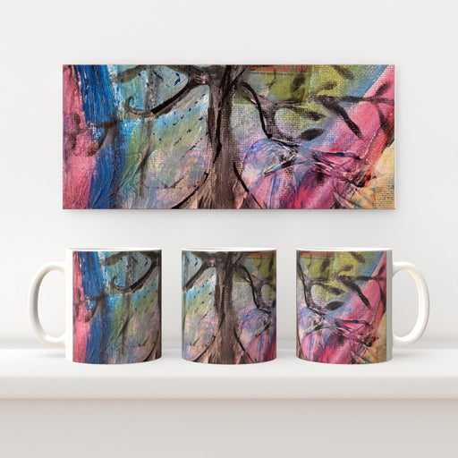 11oz Ceramic Mug - Tree Of Life 2 - CJ Designs - printonitshop