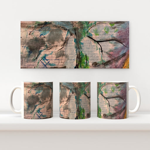 11oz Ceramic Mug - Tree Of Life 3 - CJ Designs - printonitshop