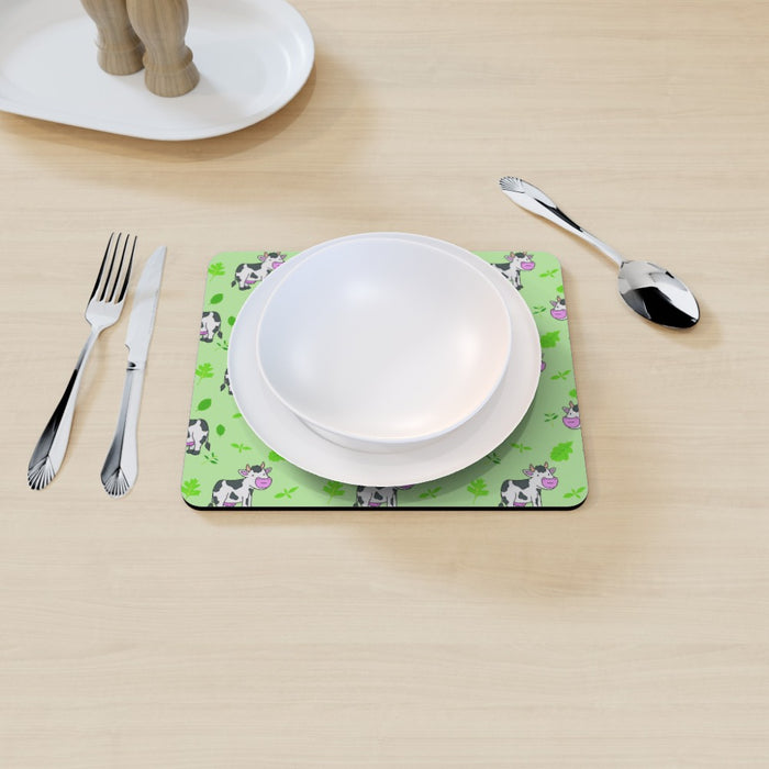 Placemat - Cow Green - printonitshop