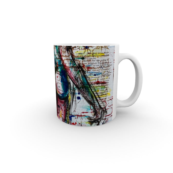 11oz Ceramic Mug - Cheeky - CJ Designs - printonitshop