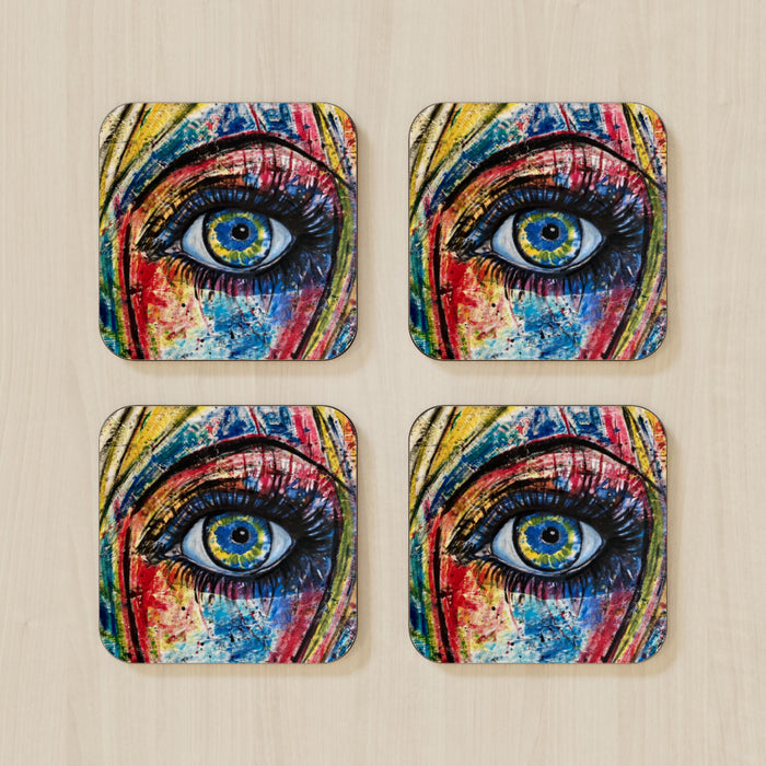 Coasters - Eye - CJ Designs - printonitshop