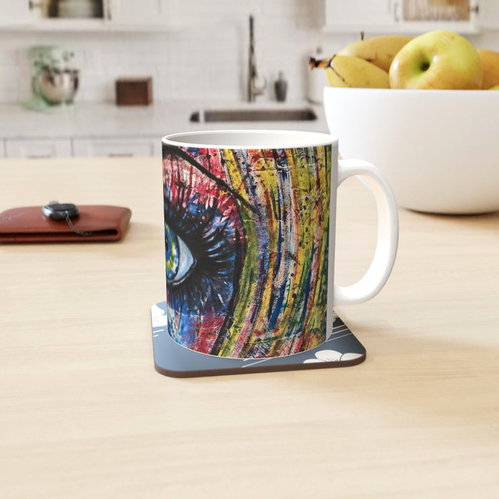 11oz Ceramic Mug - Eye - CJ Designs - printonitshop