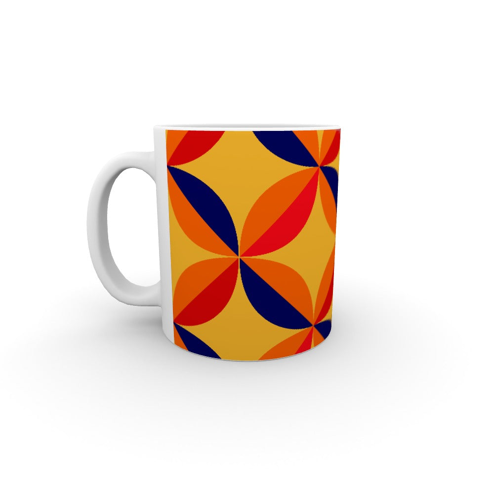 11oz Ceramic Mug - Abstract One by  Print On It