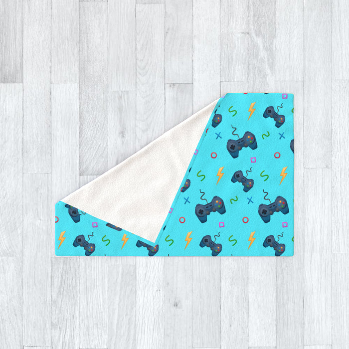 Blanket - Pale Blue Gaming - printonitshop