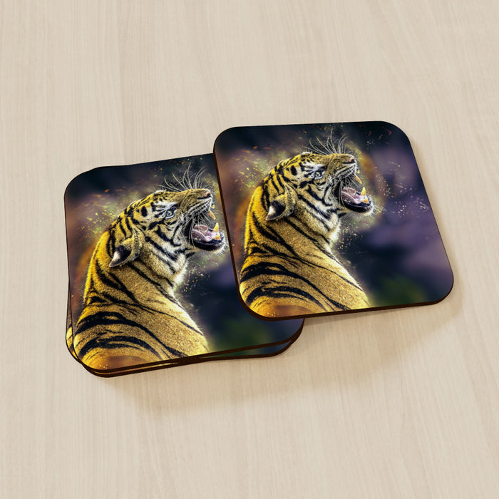 Coasters - Digital Tiger - printonitshop