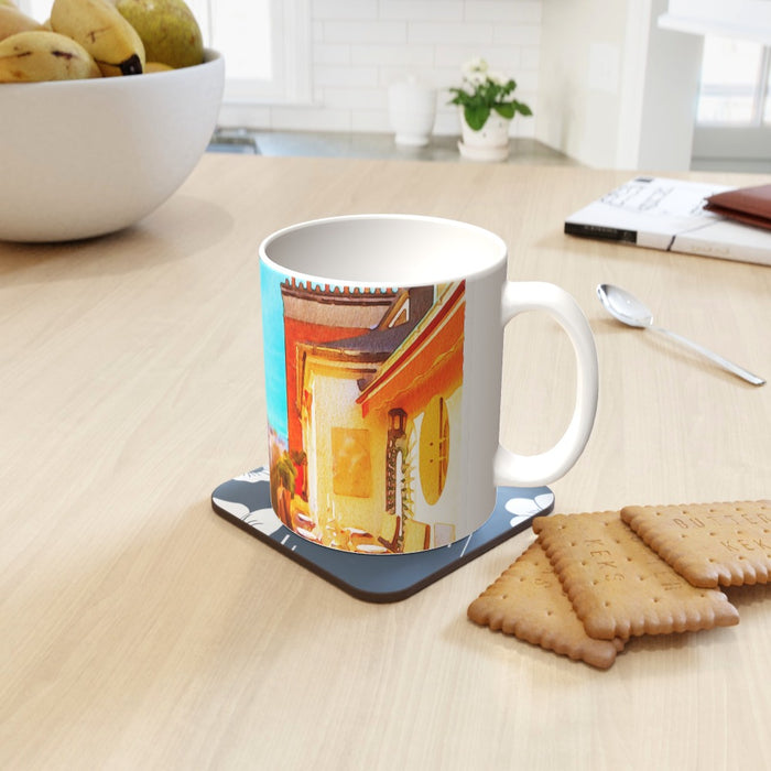 11oz Ceramic Mug - Paris View - printonitshop